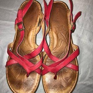Born strappy sandals.